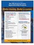 Plumbers and Steamfitters Local 486 Recruitment: The Mechanical Trades Apprenticeship Program