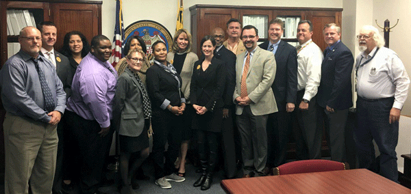 Secretary Kelly M. Schulz and the Maryland Apprenticeship and Training team