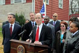 Secretary Perez discusses the governor�s homeownership preservation initiatives