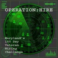 Operation Hire: Maryland's 100 Day Veteran Hiring Challenge Begins