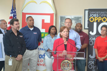 Maryland Senator Kathy Klausmeier expressed how EARN Maryland was created to address the demands of businesses by focusing intensively on the workforce needs